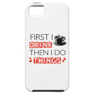 Funny Coffee designs Case For The iPhone 5