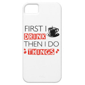 Funny Coffee designs iPhone 5 Cover