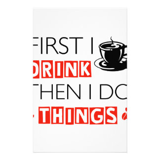Funny Coffee designs Stationery