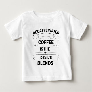 funny coffee drink baby T-Shirt