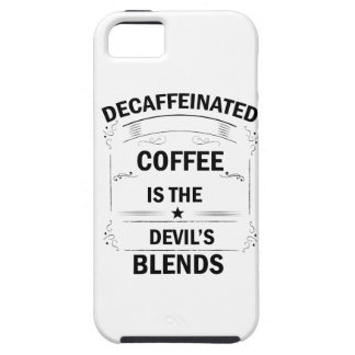funny coffee drink iPhone 5 cover