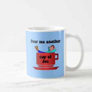 Funny coffee lover basic white mug