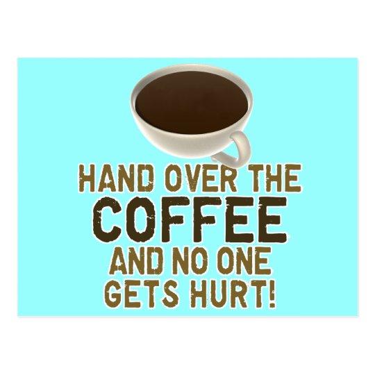 Funny Coffee Lover Postcard Zazzle Com Au