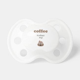 Funny coffee makes me poop emoji phrase dummy