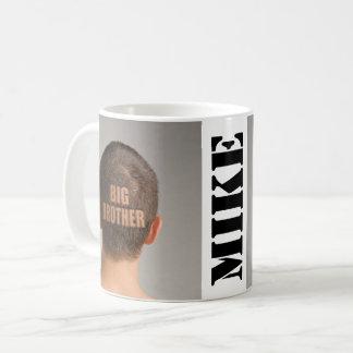 Funny Coffee Mug Big Brother Haircut Shaved Head