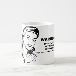 Funny coffee mug for the caffeine dependent