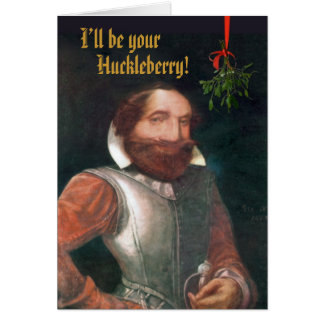 Funny Colonial Christmas Card