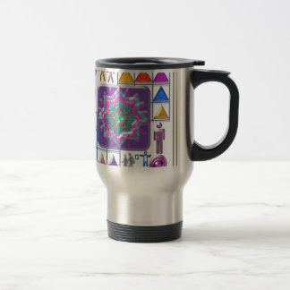 FUNNY Color Cartoons PURPLE Show :lowprice GIFTS Travel Mug