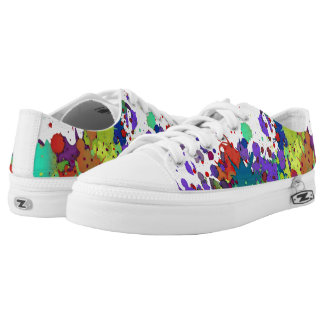 FUNNY COLOR SPLASHes I + your backgr. & ideas Low Tops