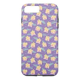 Funny Colorful Back To The 80's Pattern iPhone 7 Plus Case