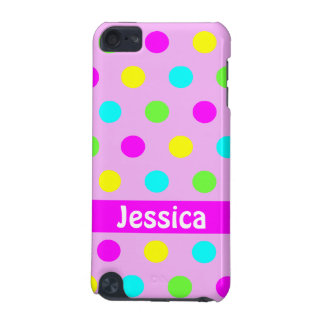 Funny Colorful Polka Dots - iPod Touch 5g Case