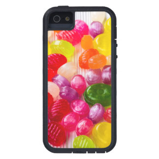Funny Colorful Sweet Candies Food Lollipop Photo Cover For iPhone 5
