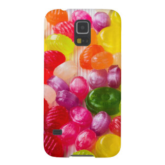 Funny Colorful Sweet Candies Food Lollipop Photo Galaxy S5 Case
