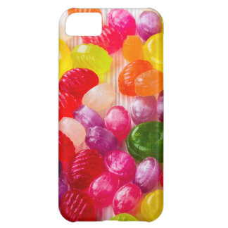Funny Colorful Sweet Candies Food Lollipop Photo iPhone 5C Case