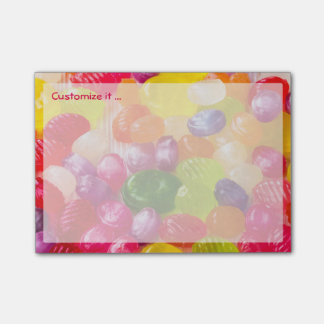 Funny Colorful Sweet Candies Food Lollipop Photo Post-it Notes