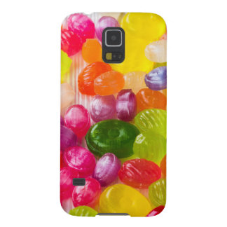 Funny Colorful Sweet Candies Food Lollipop Picture Case For Galaxy S5
