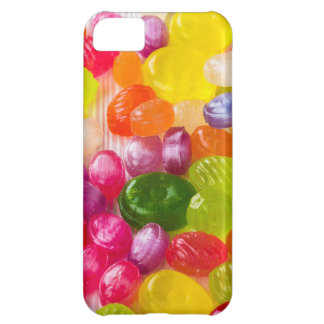 Funny Colorful Sweet Candies Food Lollipop Picture iPhone 5C Case