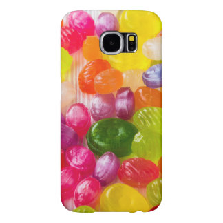 Funny Colorful Sweet Candies Food Lollipop Picture Samsung Galaxy S6 Cases