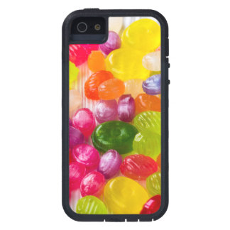 Funny Colorful Sweet Candies Food Lollipop Picture Tough Xtreme iPhone 5 Case