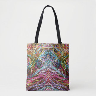 Funny Colorful Yarn Happy Colors Tote Bag