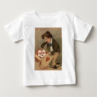 Funny Comedy Father Rocking Baby Cradle T Shirts