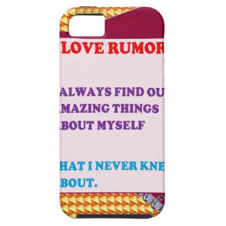 FUNNY COMIC COMEDY QUOTE WISDOM RUMORS FUN iPhone 5 COVER