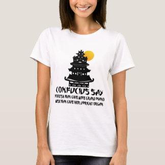 Funny Confucius T-Shirt