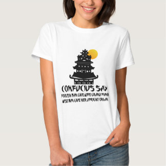 Funny Confucius T Shirts
