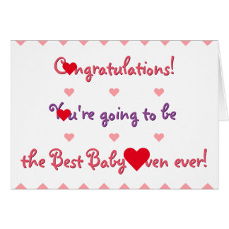 Funny Congratulations Mom To Be Baby Shower Card