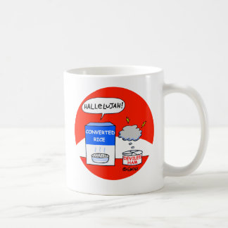 Funny Converted Rice and Deviled Ham Pastor Coffee Mug