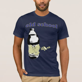 Funny Cool 40 oz Remix Liquor Custom Old School T-Shirt
