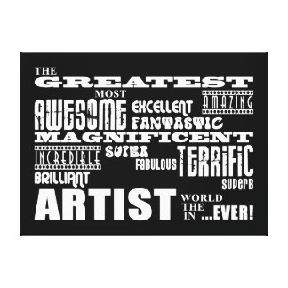 Funny Cool Artists Birthdays Greatest Artist Canvas Print