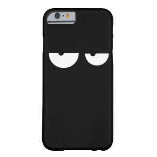 Funny cool cartoon eyes barely there iPhone 6 case
