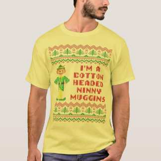Funny Cotton Headed Ninny Muggins Ugly Sweater