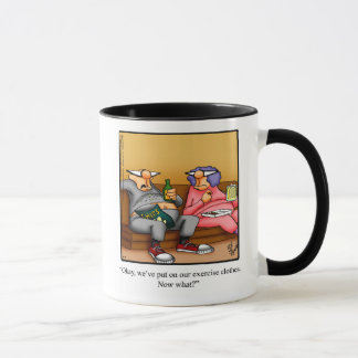 Funny Couch Potato Couple Humor Mug Gift
