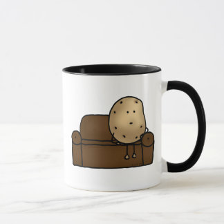 Funny couch potato mug