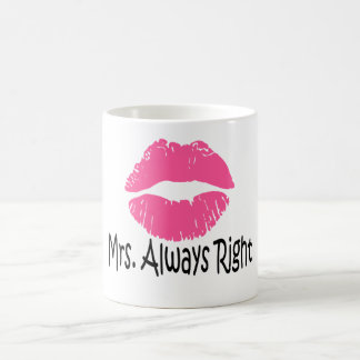 funny couple mug set x2,mrs always right