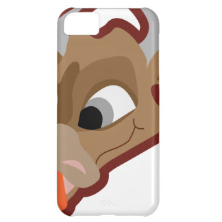 Funny cow cartoon character iPhone 5C covers