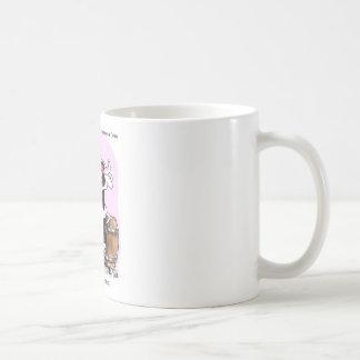 Funny Cow Cartoon Gifts Tees & Collectibles Basic White Mug