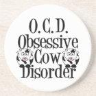 Funny Cow Coaster