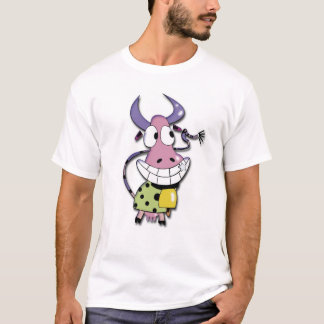 Funny Cow Smily T-Shirt