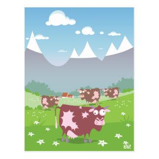 Funny Cows Postcard