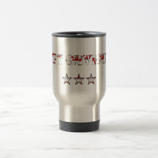 Funny Cpt Obvious and army stars Travel Mug