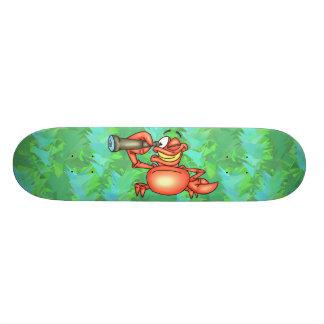 Funny Crab Spy Custom Skateboard