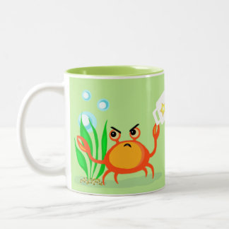 Funny Crabby without Coffee Lover's Mug