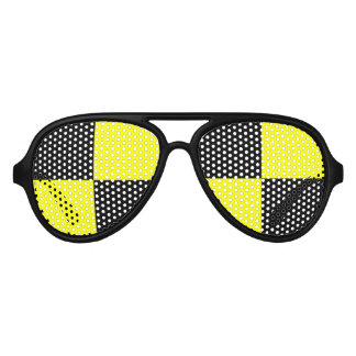 Funny crash test dummy party sunglasses