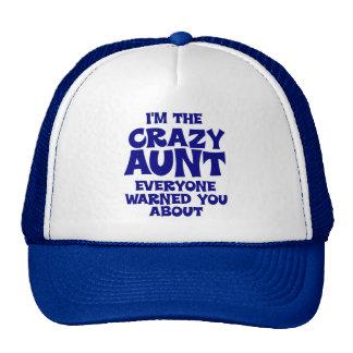 Funny Crazy Aunt Cap