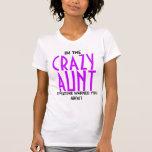 Funny Crazy Aunt T Shirt