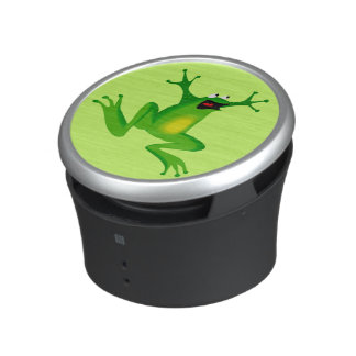 Funny Crazy Leaping Cartoon Frog Speaker