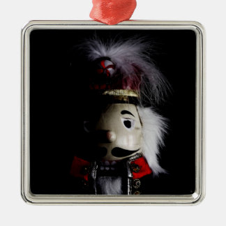 Funny Creepy Nutcracker Metal Ornament